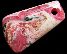 61.04 CTS RHODOCHROSITE WELL POLISHED DRILLED [MGW3318]
