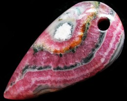 43.04 CTS RHODOCHROSITE WELL POLISHED DRILLED [MGW3328]