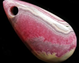 24.86 CTS RHODOCHROSITE WELL POLISHED DRILLED [MGW3337]