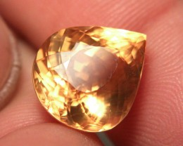 11.71 Carat VVS Golden Calcite - Gorgeous