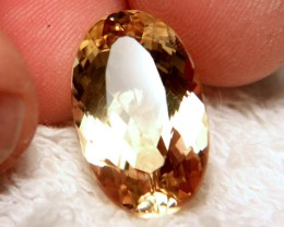 17.86 Carat VVS1 Brazilian Golden Beryl - Superb