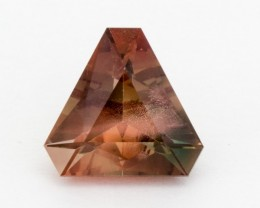 4.9ct Oregon Sunstone, Rootbeer/Green Triangle (S586)