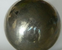 Natural Pyrite Sphere