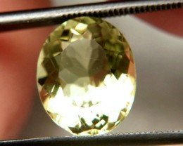 4.22 Ct. VVS South American Greenish Yellow Quartz