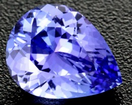 2.65 CTS VVS CERTIFIED TANZANITE STONE - EXCELLENT [ZST300]