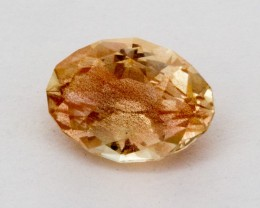3.1ct Peach Oval Sunstone (S746)