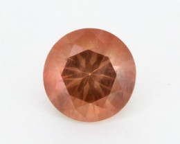 1.8ct Peach Round Sunstone (S758)