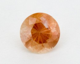 1.8ct Peach Round Sunstone (S763)