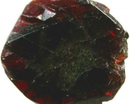 IRIDESCENT GARNET BEADS SLICED 28CTS [FP1201]