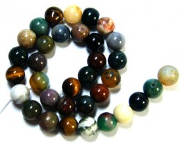 NATURAL COLOURFUL GEMSTONES MIX STRAND 420 CTS  TR 302