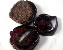 GARNET  SLICES FOR BEADS 88 CTS [MGW1345 ]