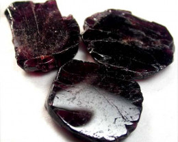 GARNET  SLICES FOR BEADS  83 CTS [MGW1348 ]