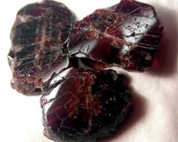 GARNET  SLICES FOR BEADS 68  CTS [MGW1355 ]