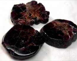 GARNET  SLICES FOR BEADS 78  CTS [MGW1359 ]