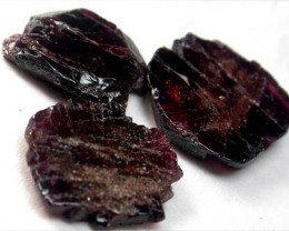 GARNET  SLICES FOR BEADS 63 CTS [MGW1366 ]