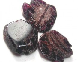 GARNET  SLICES FOR BEADS  68 CTS [MGW1376 ]