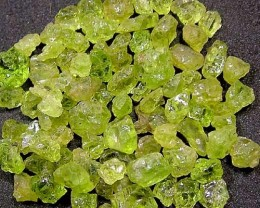 PERIDOT ROUGH (PARCEL)  50 CTS FN 1724 (LO-GR)