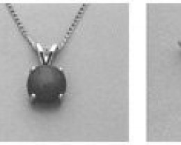 8mm Round Cabochon Pre-Notched Pendant Setting-SS