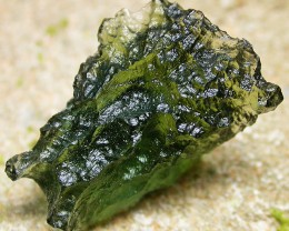 10.74 CTS GREEN MOLDAVITE   NATURAL   [MGW3306]