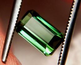1.22 Carat VS Green Nigerian Tourmaline - Beautiful