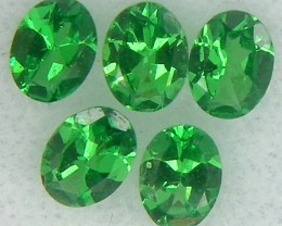 TSAVORITE GREEN GARNET  1   CTS RNG-291
