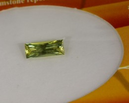 YELLOW SAPPHIRE UNHEATED CERTIFIED 0.64 CTS TBM-618