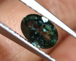 BLUE SAPPHIRE UNHEATED CERTIFIED 0.41 CTS  AS-A155