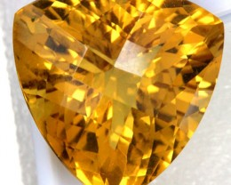 VVS1 LARGE CITRINE  37.25 CTS  AS-AB161