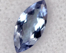 0.45 CTS TANZANITE FACETED VIOLET BLUE  RNG-303