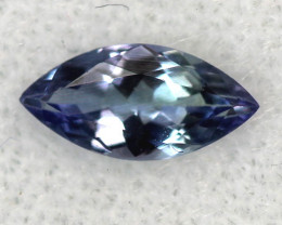 TANZANITE FACETED VIOLET BLUE 0.40 CTS RNG-302