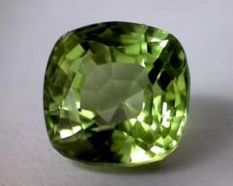 1.75 ct Bright Green Fiery Peridot, Mogok VVS - B47