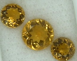 CITIRINE FACETED  PARCEL NATURAL 4.94 CTS   RNG-262