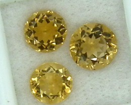 CITIRINE FACETED  PARCEL NATURAL 6.20 CTS  RNG-266