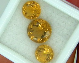 CITIRINE FACETED  PARCEL NATURAL 4.76 CTS  RNG-267