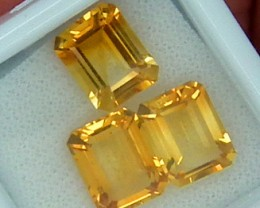 CITIRINE FACETED PARCEL NATURAL 6.8 CTS RNG-270