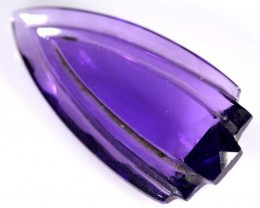CARVED AMETHYST  24  CTS    CG-1483