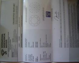 NATURALSOLITIARE-IGI-CERTIFIED-H-SI-2, 1.04CTSIZE DIAMOND,NR