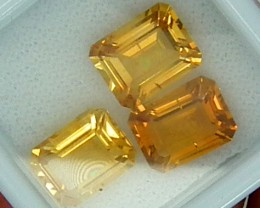 CITIRINE FACETED  PARCEL NATURAL 6.45 CTS   RNG-272