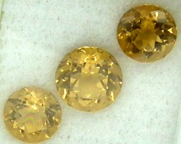 CITIRINE FACETED  PARCEL NATURAL 4.64 CTS   RNG-273