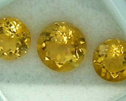 CITIRINE FACETED  PARCEL NATURAL 4.58 CTS  RNG-275