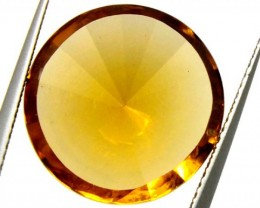 GEMSTONE CARVED CITRINE 9.5 CTS  CG-1512
