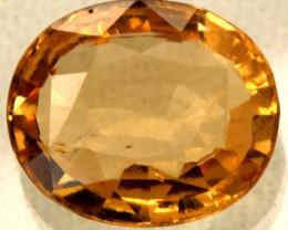 HESSONITE GARNET SRILANKA 4.7  CTS GNH0008-SGC-882