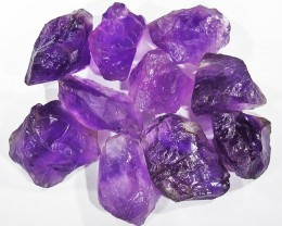 86.43 CTS AMETHYST  ROUGH  FROM NAMBIA   [F4218]