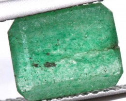 AVENTURINE FACETED EMERALD GREEN 1.90 CTS PG-665