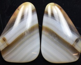 11.45 CTS WYOMING AGATE PAIR PERFECT FOR EARRINGS