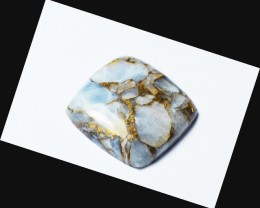 23mm square mojave calcite cabochon 23 by 23 by 5mm
