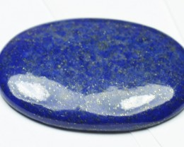 44mm oval Afghani Lapis Lazuli cabochon AAA Grade