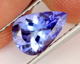 1.21 CTS VVS TANZANITE STONE - EXCELLENT CUT [TAN35]