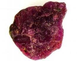 25 CTS BURMA RUBY ROUGH RICH RED     RG-597