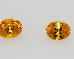 Qty 2 Natural Grossular Garnet